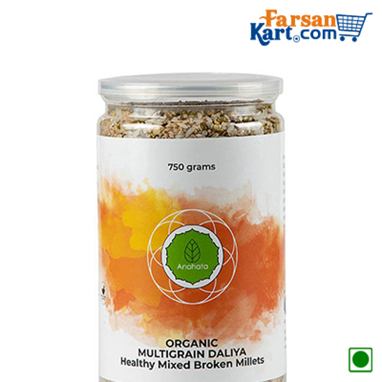 Organic MultiGrain Daliya (Healthy Mixed Broken Millets)