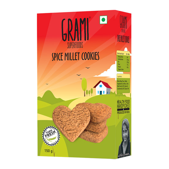 Pack of 2 jowar millet cookies