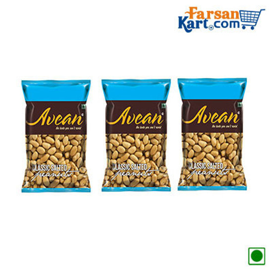 Avean Classic Salted Peanuts Combo Pack of 3 by avean international pvt ltd