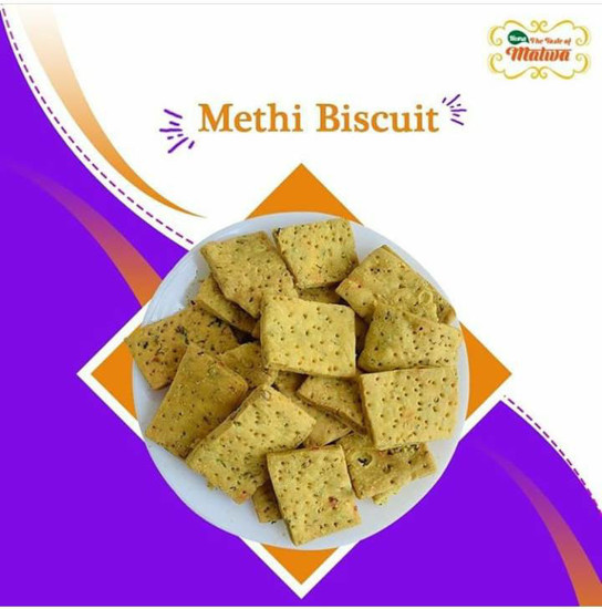 Methi Biscuit Pack Of 2